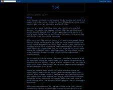 Too Blogspot