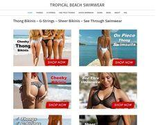 Tropical Beach Swimwear