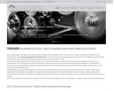 Trover Pharmaceutical Tablet Making Machine