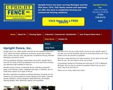 Upright-fence