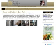 The Voice Institute Of New York