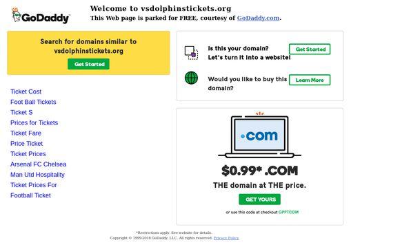 Vsdolphinstickets.org