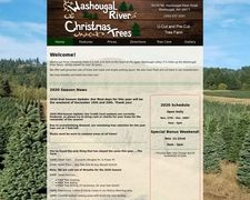 Washougalr River Christmas Trees