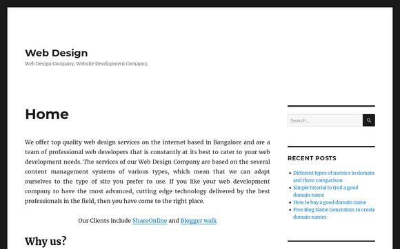 Web Design Paradise