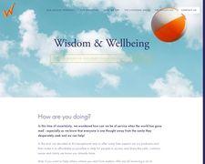 Wisdomandwellbeing.co.uk