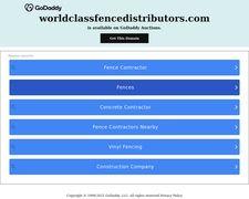 Worldclassfencedistributors.com