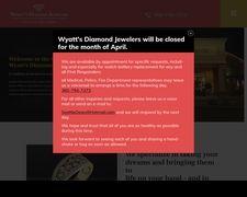 Wyatts Diamond Jewelers Home