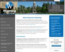 Wyoming Corporate Services Inc.
