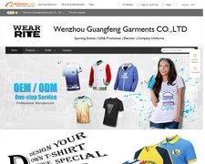Wenzhou Guangfeng Garments Co.